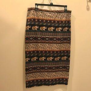 Dresses & Skirts - Tribal Pencil Skirt